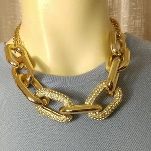 LYDELL NYC Runway Massive Chain Necklace
